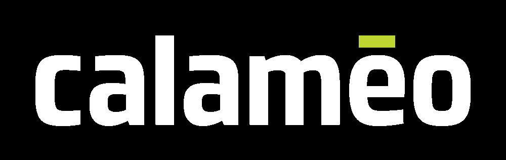 calameo logo dark background